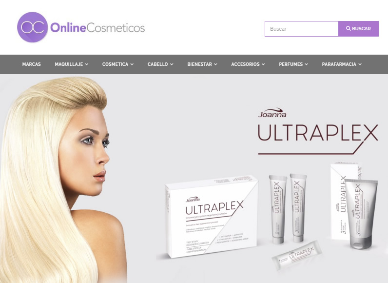 On Line cosmeticos